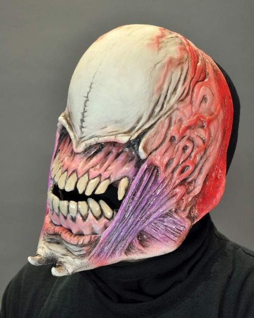 Mask Moving Mouth Sock Faceless Horror Horrific Scary Spooky Halloween